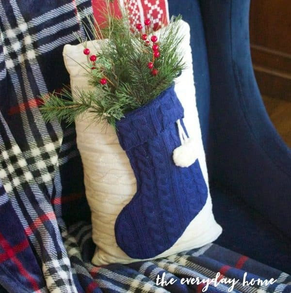 DIY-Sweater-Stocking-Christmas-Pillow