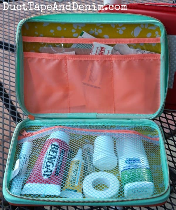 Oh Joy DIY first aid kit from Target | DuctTapeAndDenim.com