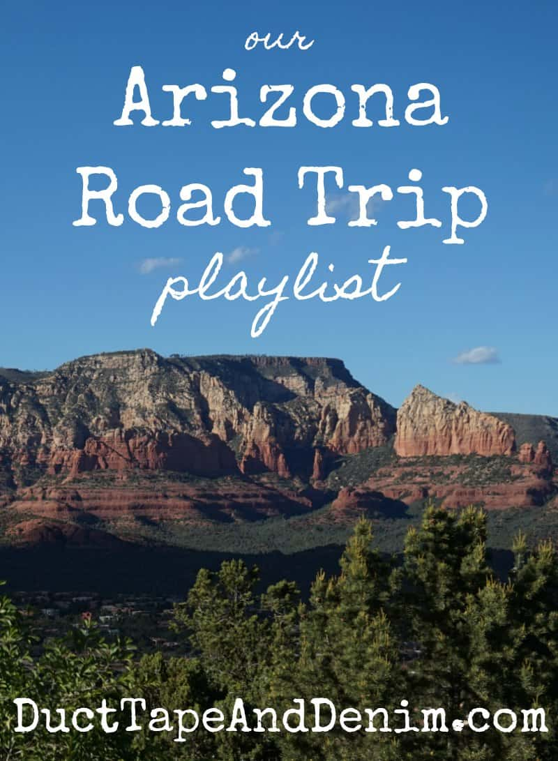 Our Arizona road trip playlist | DuctTapeAndDenim.com