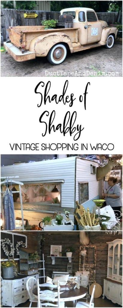 Shades of Shabby, vintage shopping in Waco Tx | DuctTapeAndDenim.com