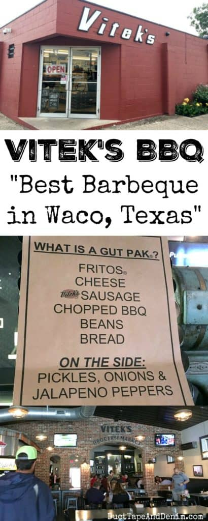 Vitek's BBQ, best barbeque restaurant in Waco, Texas? Our review. | DuctTapeAndDenim.com