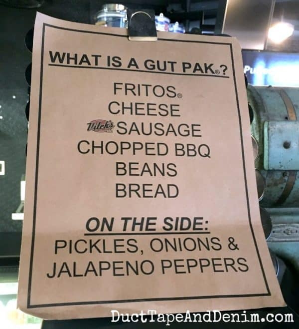 What is a Gut Pak? from Vitek's BBQ in Waco | DuctTapeAndDenim.com