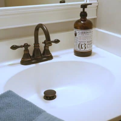 How to Paint a Sink, a DIY Bathroom Project Your Budget Will Love!