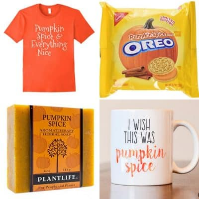 Pumpkin Spice Everything Gift Guide