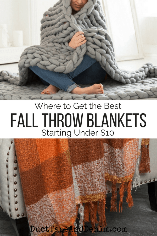 25+ fall throw blankets