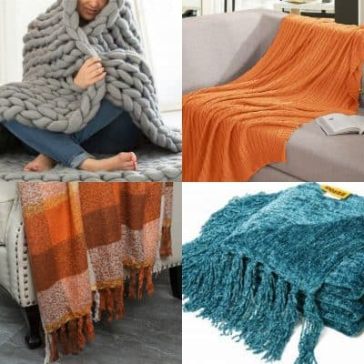 25 Cozy Fall Throw Blankets Starting at Under $10