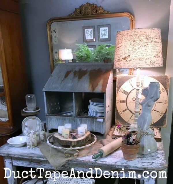Vintage shopping at Shabby la Chic, La Grange, Waco TX | DuctTapeAndDenim.com