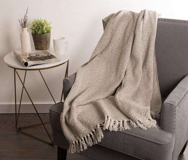 farmhouse throw from amazon