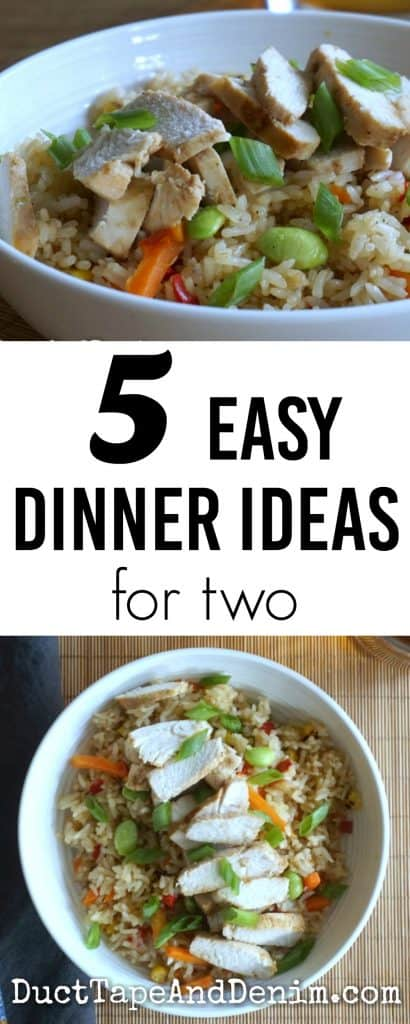 5 Easy Dinner Ideas For Two. Asian Meals For Weeknight Dinners.  DuctTapeAndDenim.com