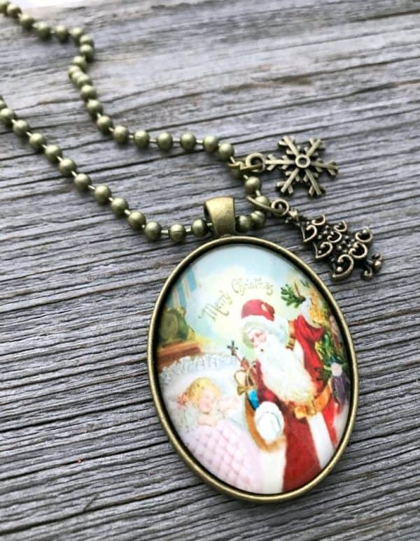 Christmas necklace