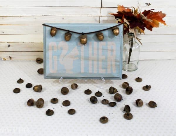 acorn gather sign