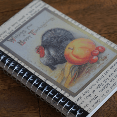 How to Make a Simple Thanksgiving Journal