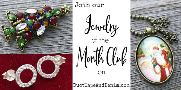 Join our NEW November jewelry of the month club on DuctTapeAndDenim.com