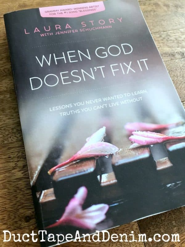 When God doesn't fix it, laura story