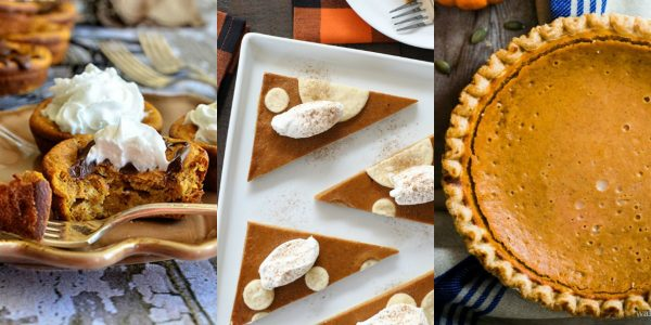 10 delicious pumpkin pie filling recipes #30DoT DuctTapeAndDenim.com