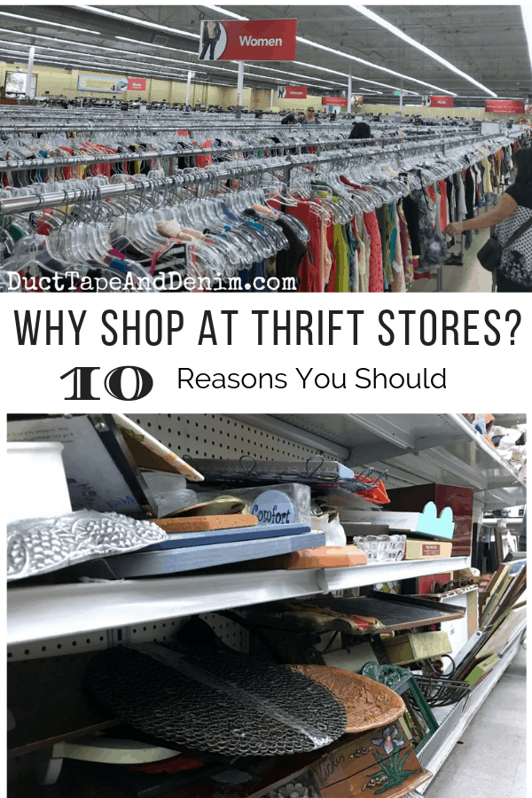 why shop at thrift stores, collage 1