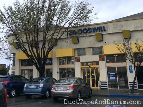 Berkeley Goodwill | DuctTapeAndDenim.com