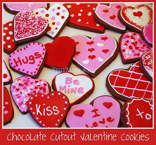 Chocolate-Valentine-cookies