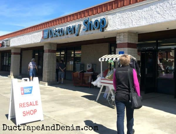 Discovery Shop, Roseville California thrift shop | DuctTapeAndDenim.com