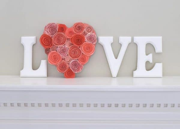 Love-letters-Mantle-Decoration