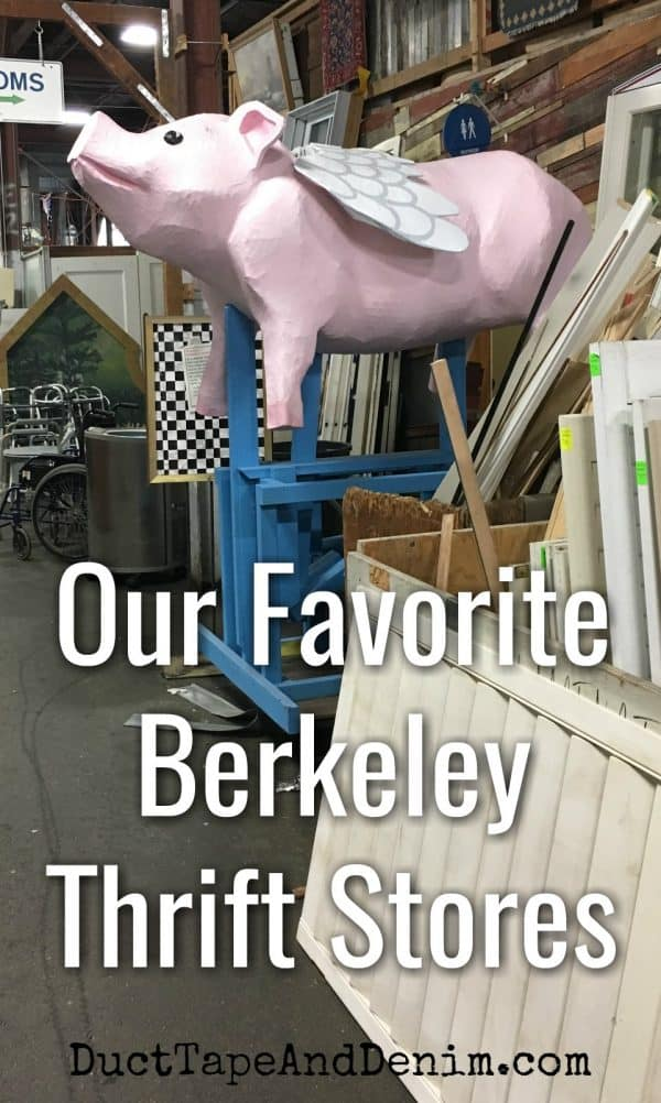 Our favorite Berkeley thrift stores | DuctTapeAndDenim.com