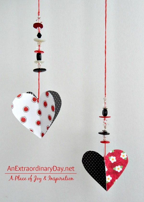 Paper-Hearts-Beads-Dangling-Beaded-Hearts-Tutorial-AnExtraordinaryDay.net_