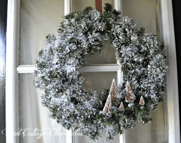 woodlands winter wreath