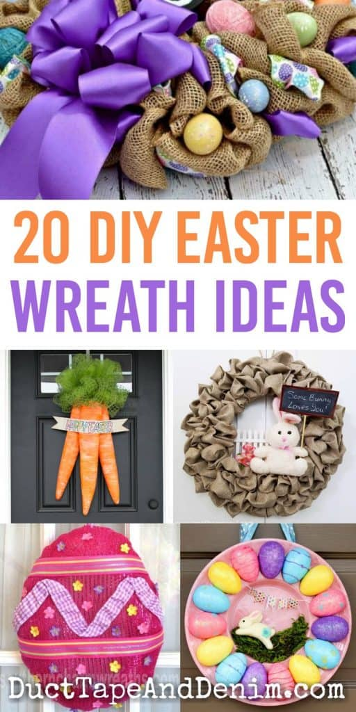 20 DIY Easter wreath ideas to make for yourself