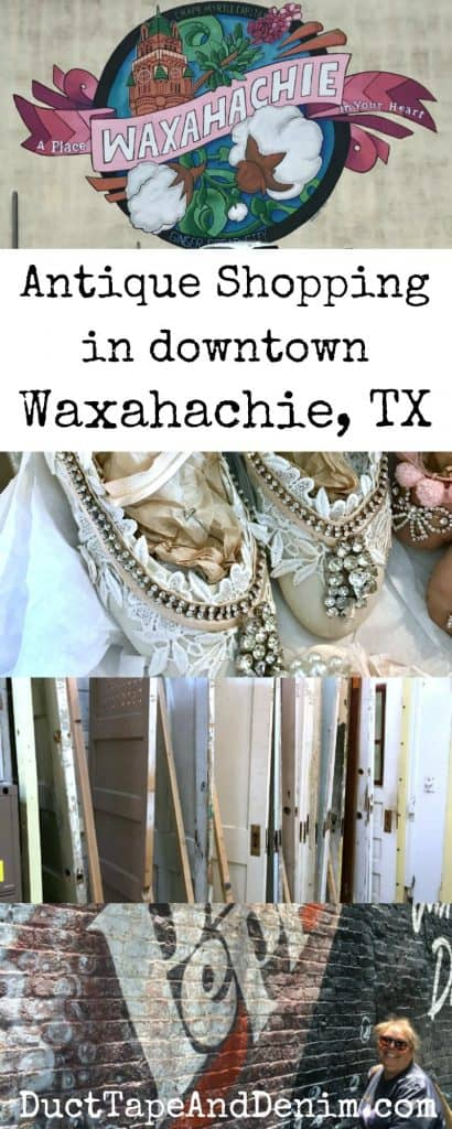 Our favorite antique stores in downtown Waxahachie Texas | DuctTapeAndDenim.com