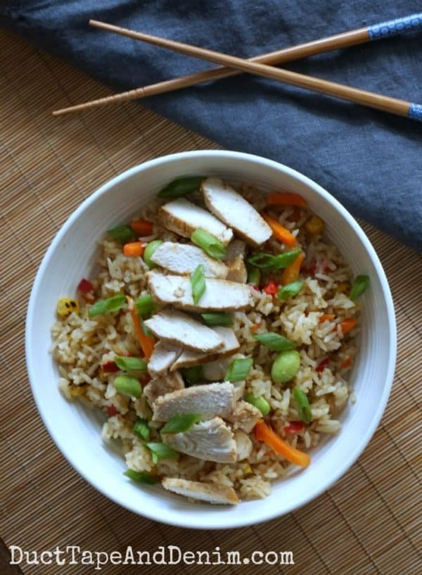 Ling Ling chicken fried rice | DuctTapeAndDenim.com