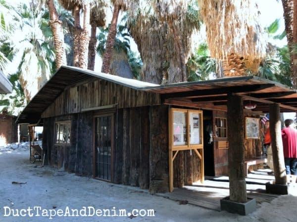 Palm hut, Coachella Valley Preserve | DuctTapeAndDenim.com