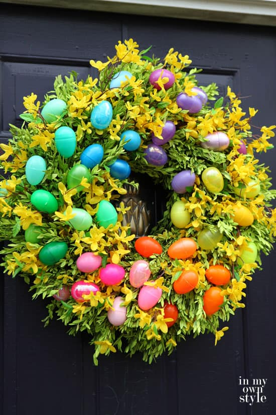 Plastic-Easter-Egg-Wreath