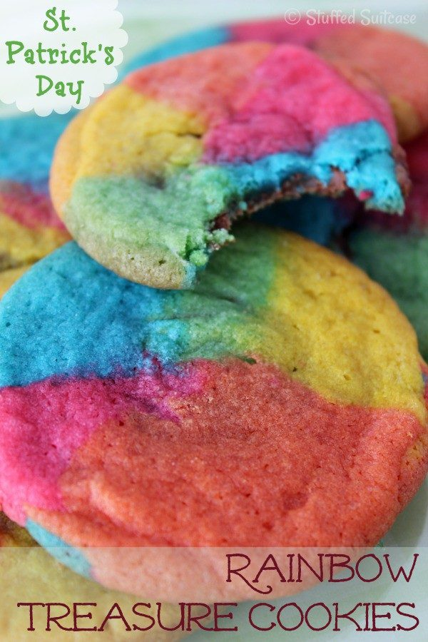 Rainbow-st patrick's day-Cookies