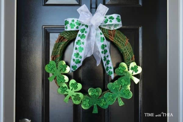 Shamrock wreath tutorial