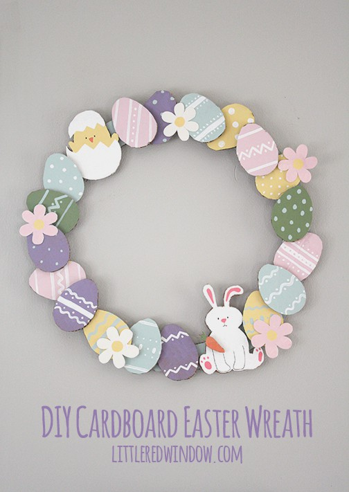 cardboard_easter_wreath_03_littleredwindow