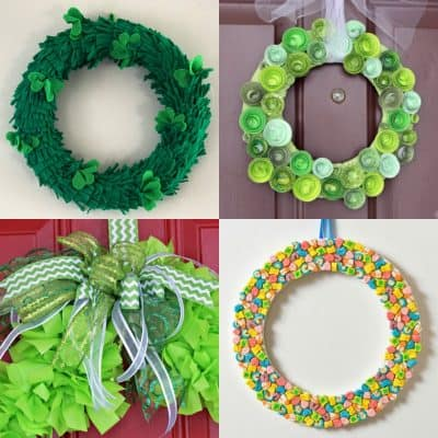 14 St. Patrick's Day Wreath Ideas
