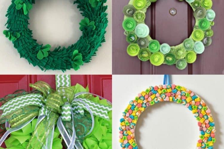 14 St. Patrick's Day Wreath Ideas