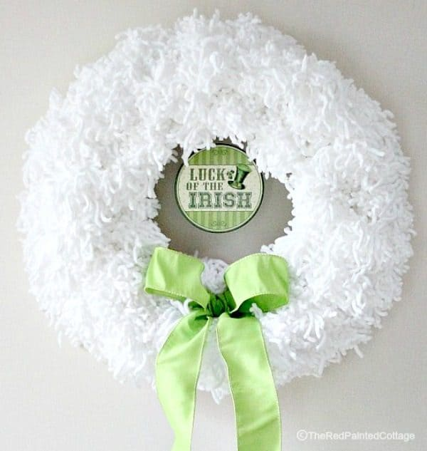 versatile st patricks day wreath
