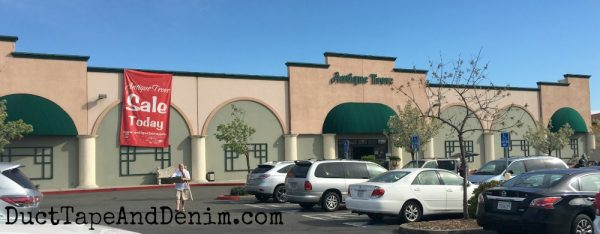 Antique Trove, antique shop, Roseville California thrifting trip | DuctTapeAndDenim.com