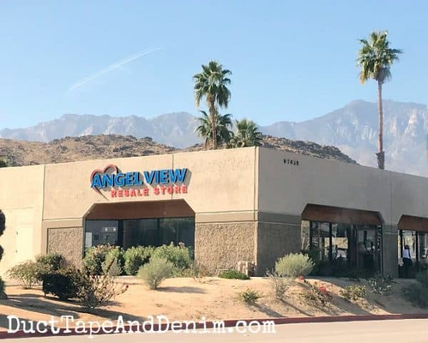 Palm Springs thrift stores, Angel View | DuctTapeAndDenim.com