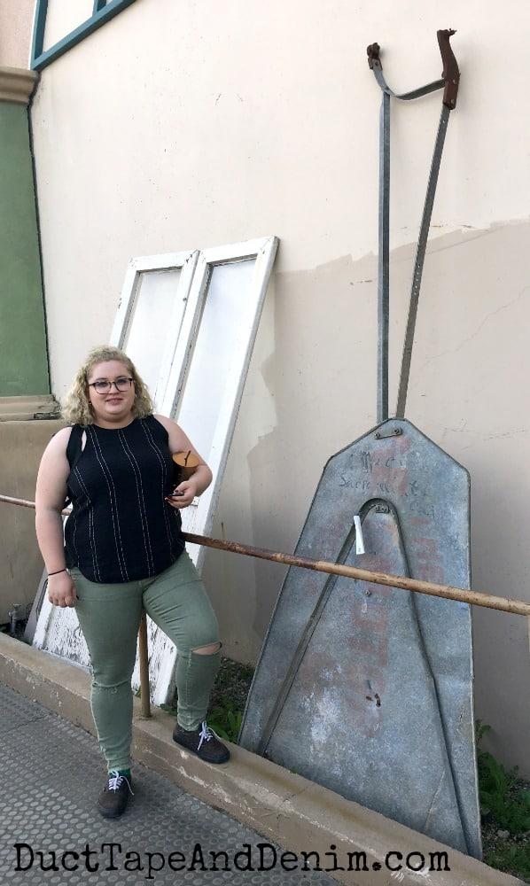 Windmill at Antique Trove Antique Store, Roseville California | DuctTapeAndDenim.com