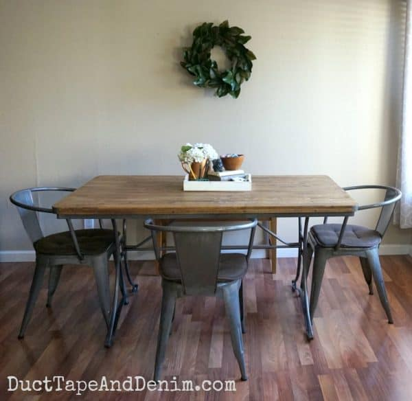 Our kitchen table | DuctTapeAndDenim.com