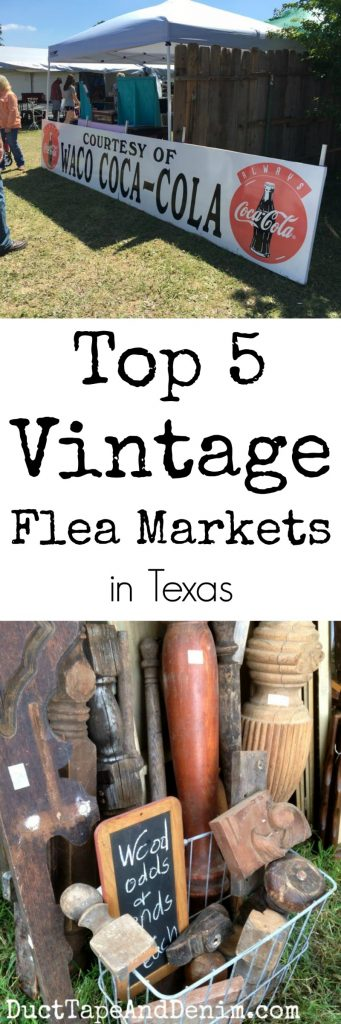 Top 5 best vintage flea markets in Texas | DuctTapeAndDenim.com