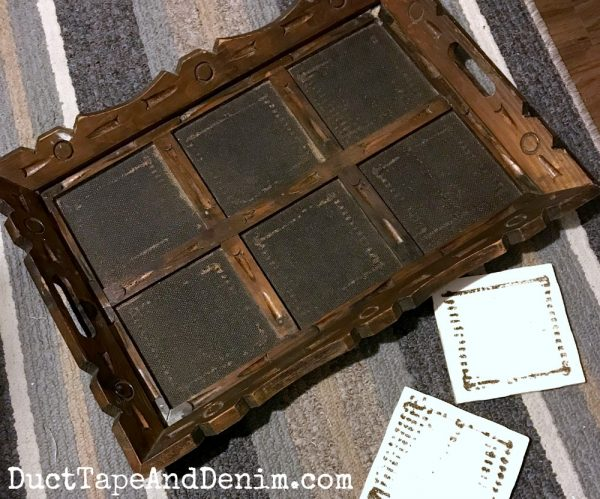 Tiles fell out of my tray | DuctTapeAndDenim.com