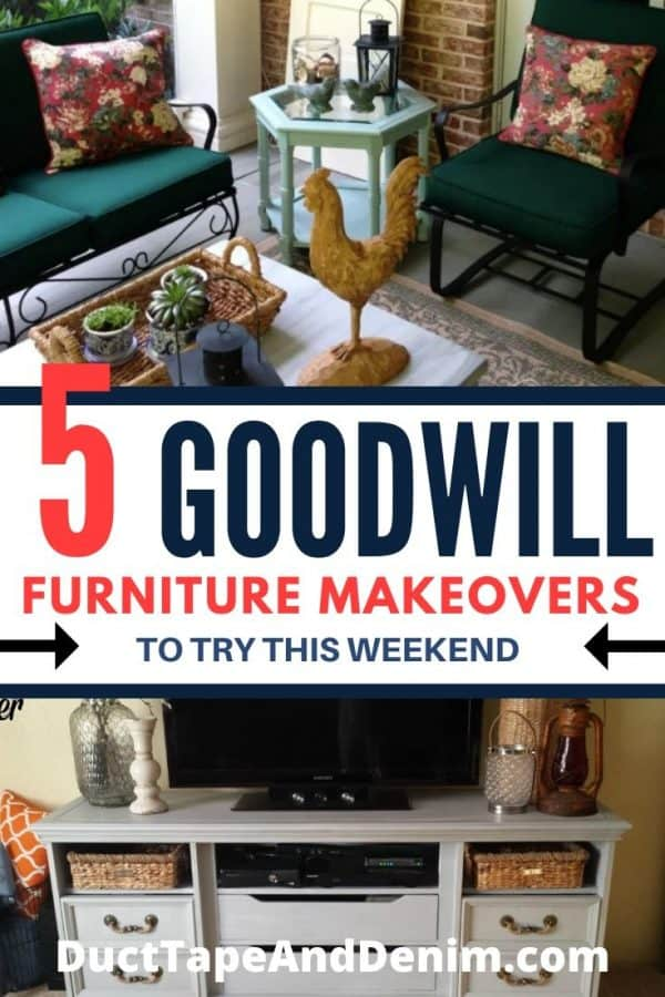 goodwill furniture makeovers