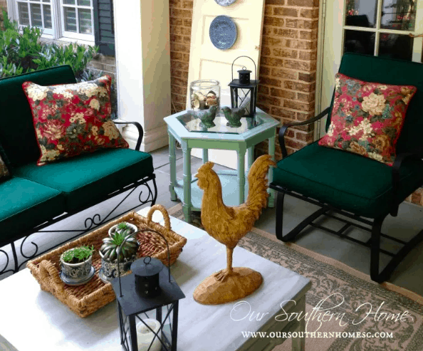 painting furniture for outdoors