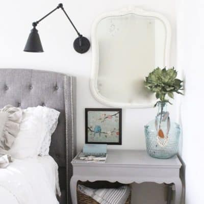 How to Style a Nightstand or Bedside Table {VIDEO}
