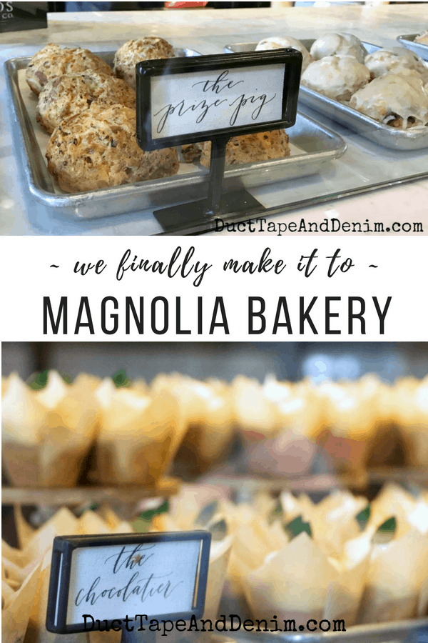 We finally made it to Magnolia Bakery, at Magnolia Market in Waco, Texas. Amazing cupcakes! DuctTapeAndDenim.com