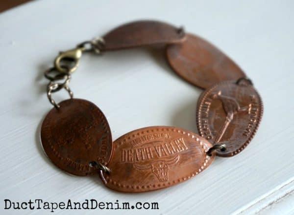 Pressed penny bracelet 1