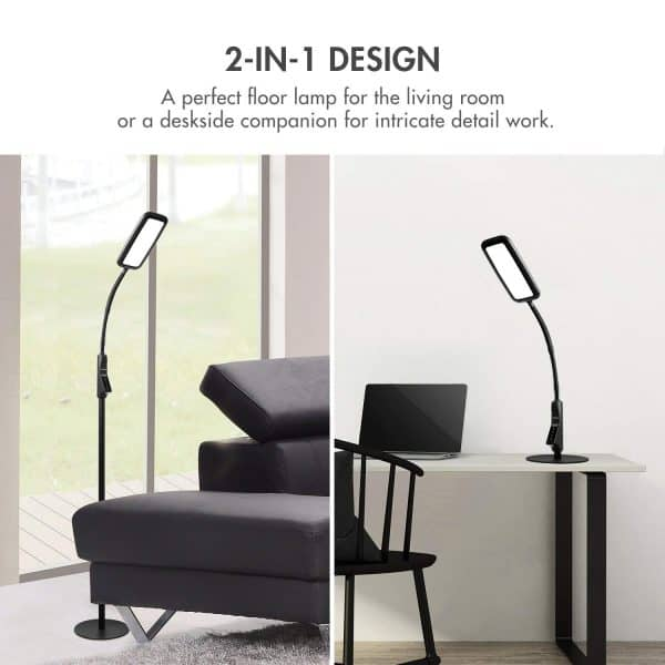 floor lamps for crafting - Tenergy LED adjustable floor lamp for